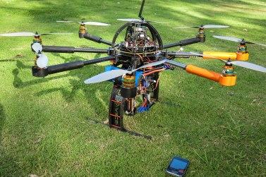 UWA's UAV in Perth